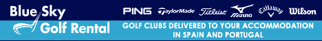 Blue Sky Golf Rental